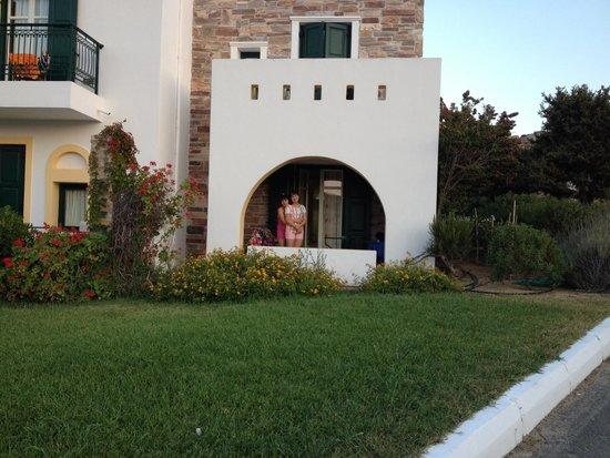 Naxos Palace Hotel: Vistas de la habitación