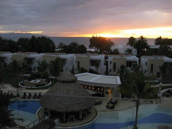 Marival Residences Luxury Resort: our view from our balcony
