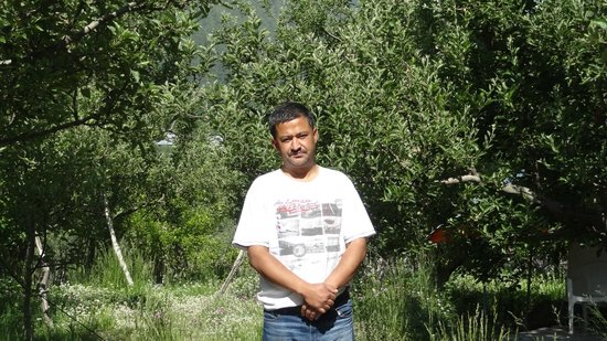 Apple Orchard Farm and Camping: Mr. Negi (Owner)