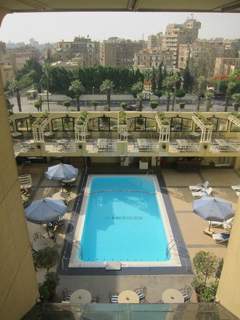 Le Meridien Heliopolis: View of pool