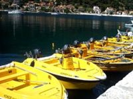 Agia Efimia, Greece: Yellow Boats Kefalonia