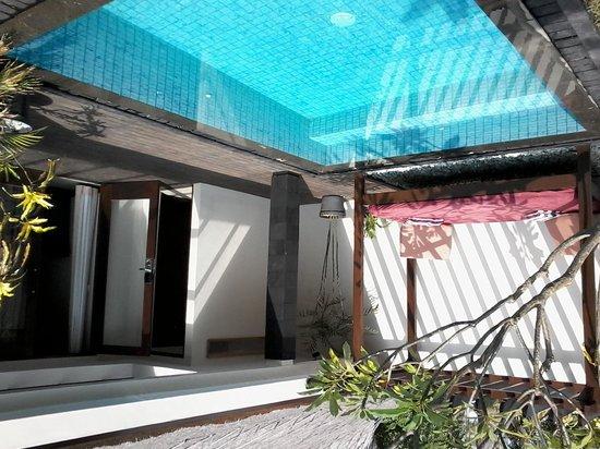 Aston Sunset Beach Resort: villa piscine