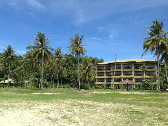 Palm Beach Resort & Spa: Accommodation Block