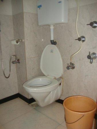 Hotel Travellers Inn: toilet