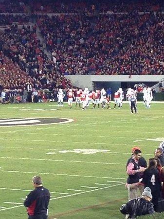 Sanford Stadium: not a bad seat anywhere