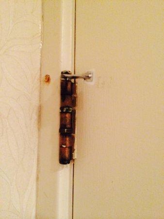 Fairmont Jasper Park Lodge: Bathroom Door $600 Room
