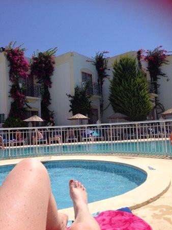 Hotel Serpina : Pool side!