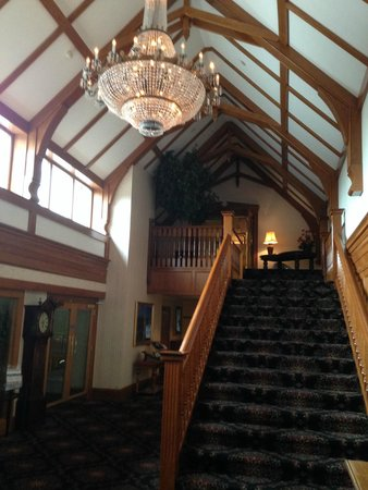 Lochgreen House Hotel: hallway