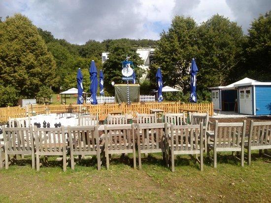 KTC Königstein: Biergarten im Park