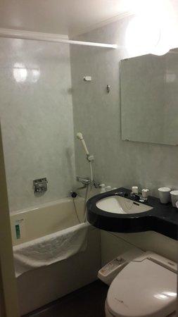 APA Hotel Keikyukamata Ekimae: Bathroom
