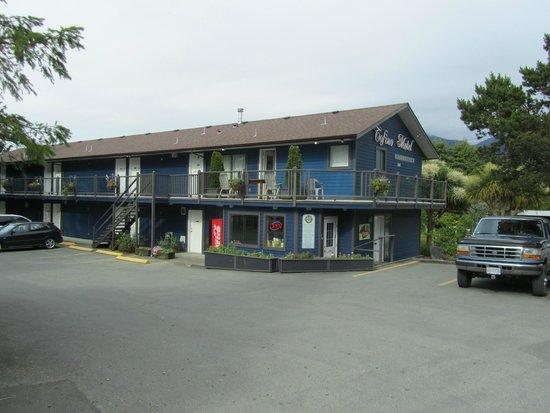Tofino Motel HarbourView: Außenansicht des Motels