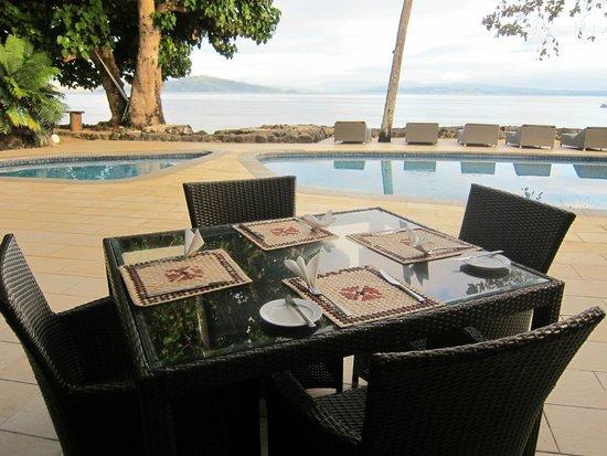 Garden Island Resort: Resort restaurant