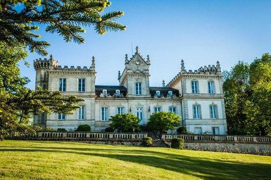chambres d 39 hotes du chateau du grand moueys capian france voir les tarifs et avis chambres. Black Bedroom Furniture Sets. Home Design Ideas