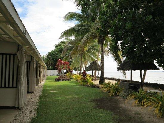 Garden Island Resort: Seafront