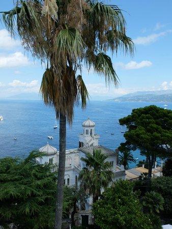 Hotel Excelsior Parco: Vue de la terrasse