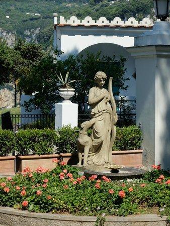 Hotel Excelsior Parco: Le jardin