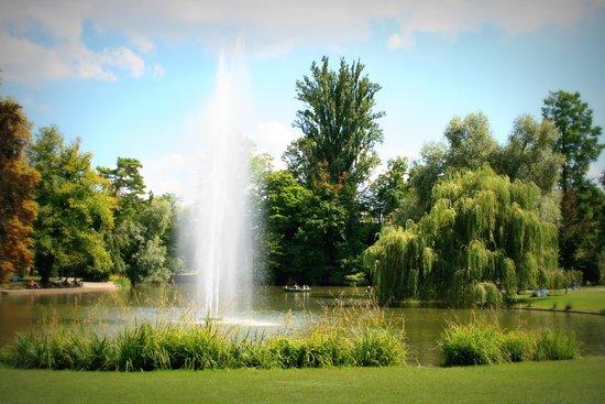 Parc de l'Orangerie : parc 1