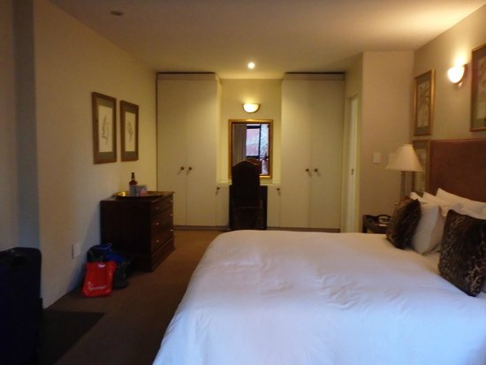 Ten Bompas: Bedroom looking in from balcony