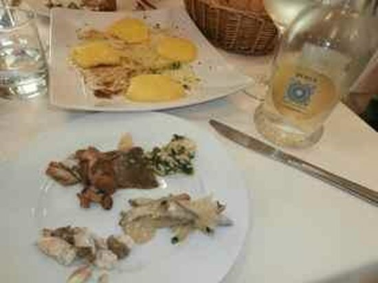 Trattoria la Fiasca: Mixed seafood from the lake entree