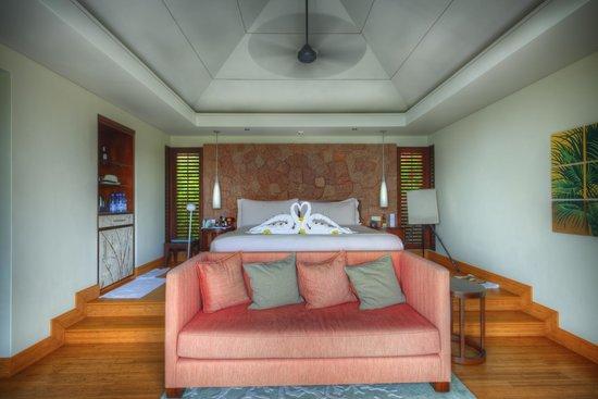 Raffles Seychelles: our room
