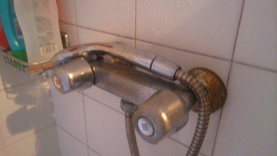 Figuera Park Hotel: griferia baño