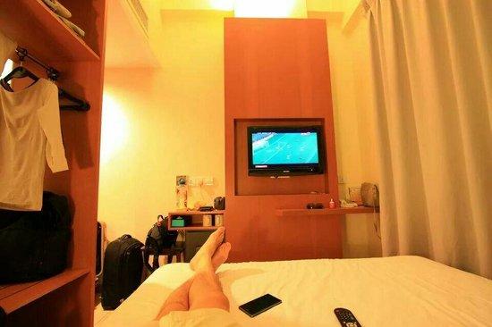 Cititel Express Kota Kinabalu: The cozy and small room
