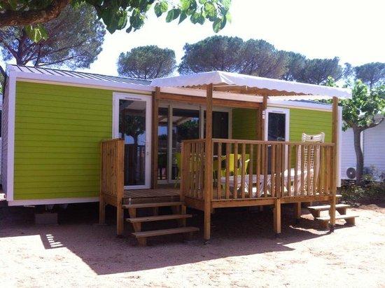 Camping Sandaya Cypsela Resort : Mobile Home Colors