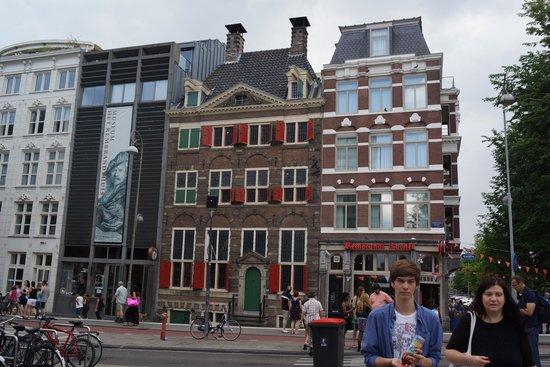 Musée de la maison de Rembrandt : Rembrandt Huis and museum entrance