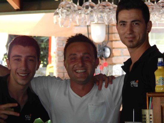 Cettia Apart Hotel: Cem and the boys