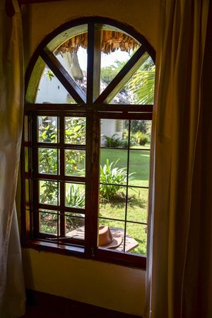 Arusha Safari Lodge: View out of #1