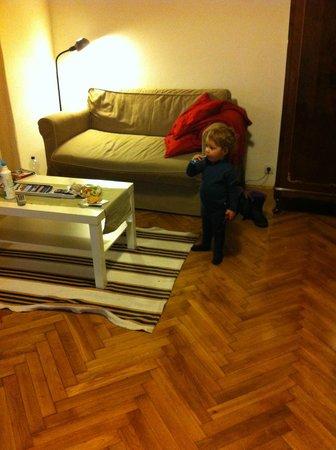 Weiner Studios: The living room