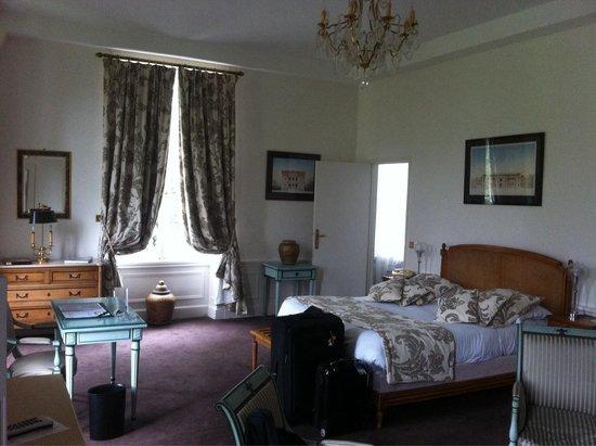 Chateau de la Motte Fenelon : Chambre num 9