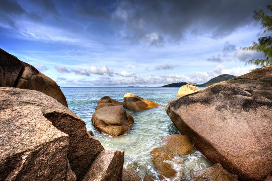 Raffles Seychelles: another view from a walk close by