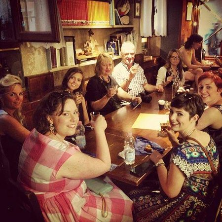 Venice Urban Adventures : Our group in one of our venues