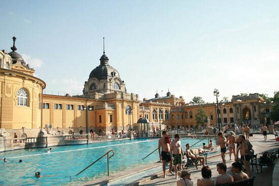Széchenyi Baths and Pool : Széchenyi Fürdő