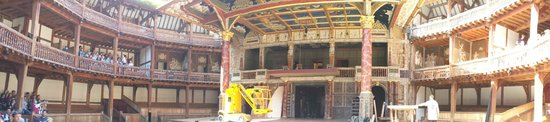Shakespeare's Globe Theatre: the stage