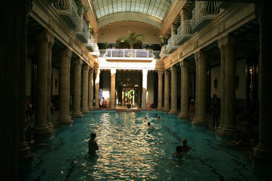 Gellert Spa : Gellert Baths
