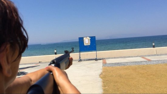Ephesia Holiday Beach Club: Shooting om 11:00