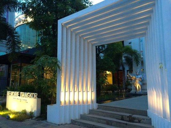 Memoire d' Angkor Boutique Hotel : Front entrance