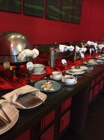 Memoire d' Angkor Boutique Hotel: breakfast buffet