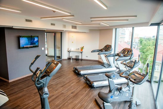 Q Hotel Wroclaw Bw Premier Collection Fitness