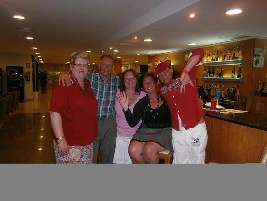Fiesta Hotel Milord: mit guten freunden aus östereich