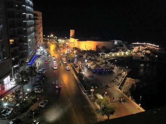 Sliema Chalet Hotel: panorama