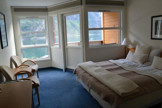 Grande Fjord Hotel: camera vista fiordo