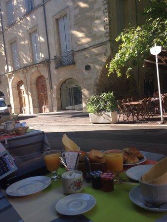 Hotel du Palais : Petit déj