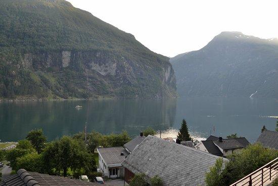 Vista Dalla Finestra Picture Of Grande Fjord Hotel