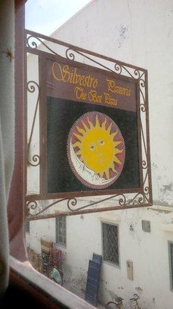 Silvestro: Outside sign