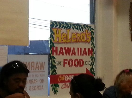 Helena's Hawaiian Food: Since 1946!