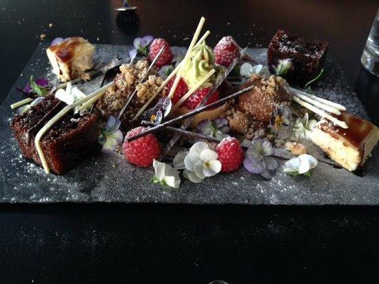 Terrace Restaurant: Dessert sharing plate