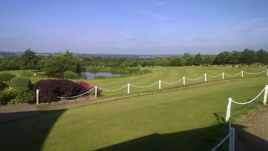 View of Houghwood Golf Course from Clubhouse